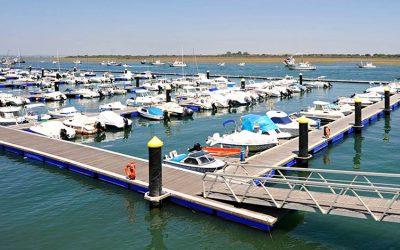 Licitación de remodelación del acceso al puerto de Punta Umbría